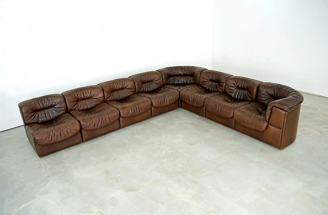 Modular Leather Sofa