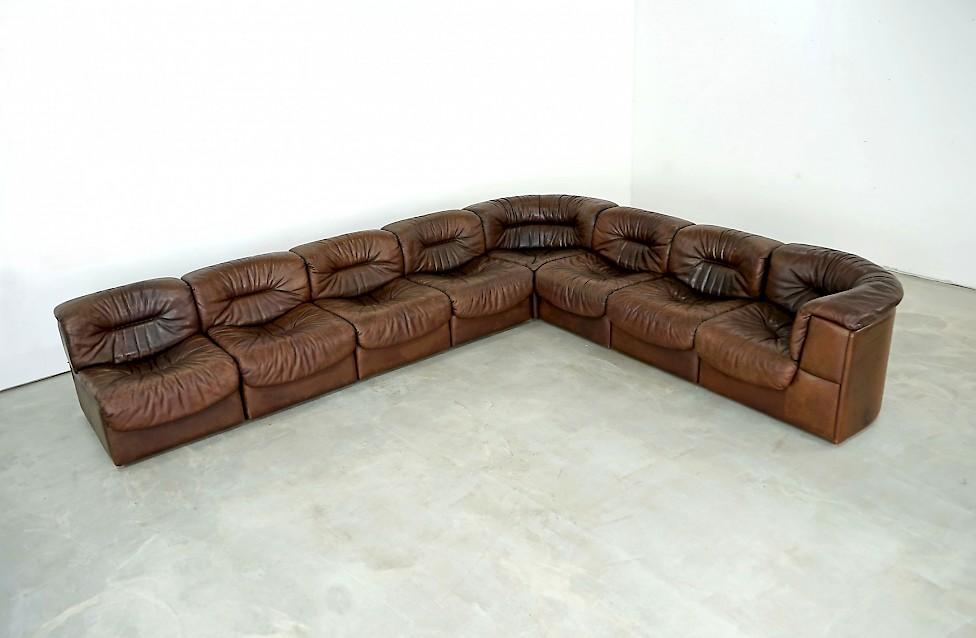 Modular Leather Sofa