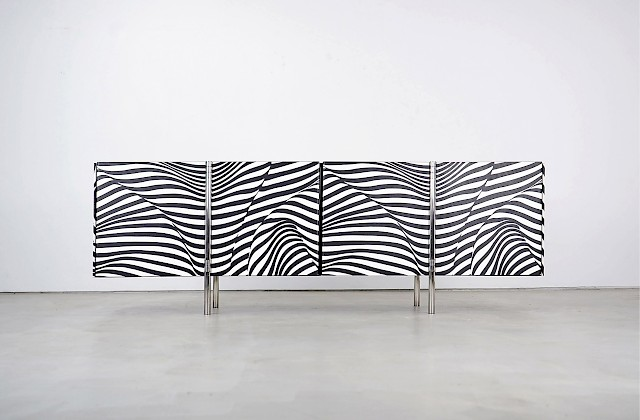 Amor Stripe 12 Sideboard by Trix & Robert Haussmann