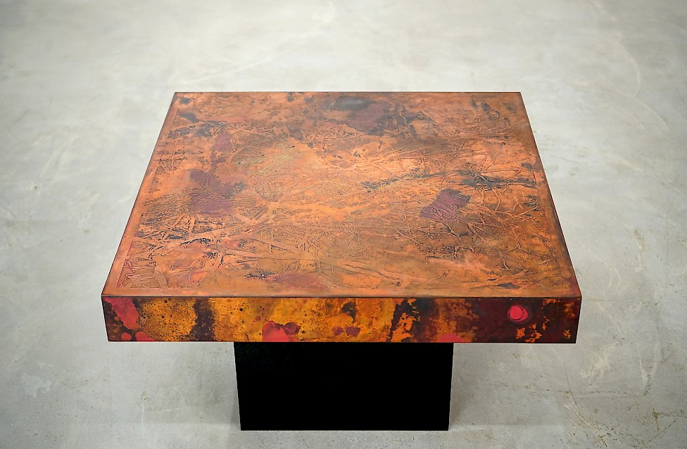 Coffee table by Bernhard Rohne