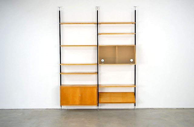 Free-standing Shelf by Ulrich P. Wieser