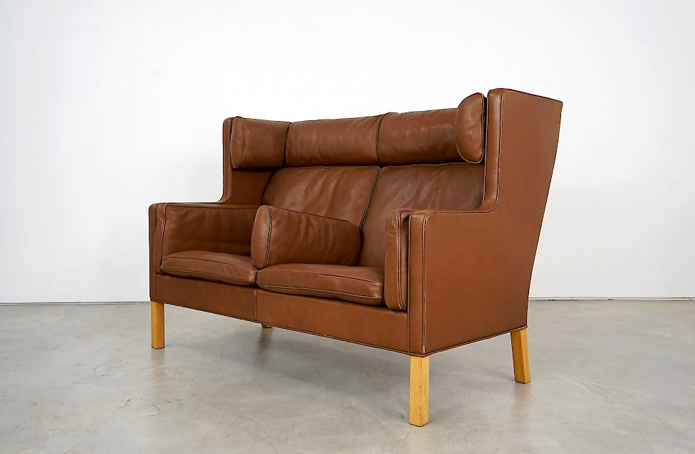 Coupe Two-Seater Sofa by Børge Mogensen