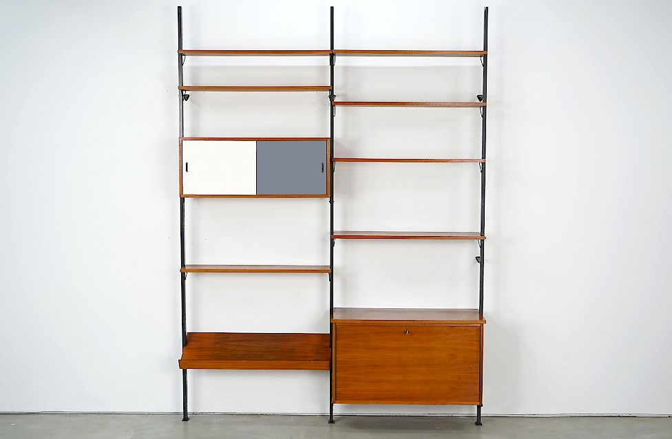"""Pira"" Shelving Unit No 2 with Reversible Doors"