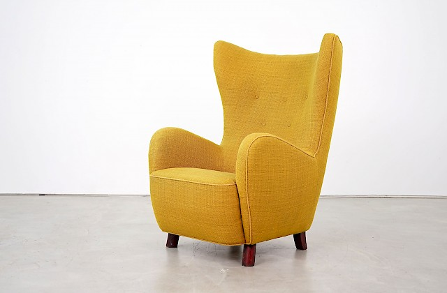 Danish Lounge Chair by Mogens Lassen