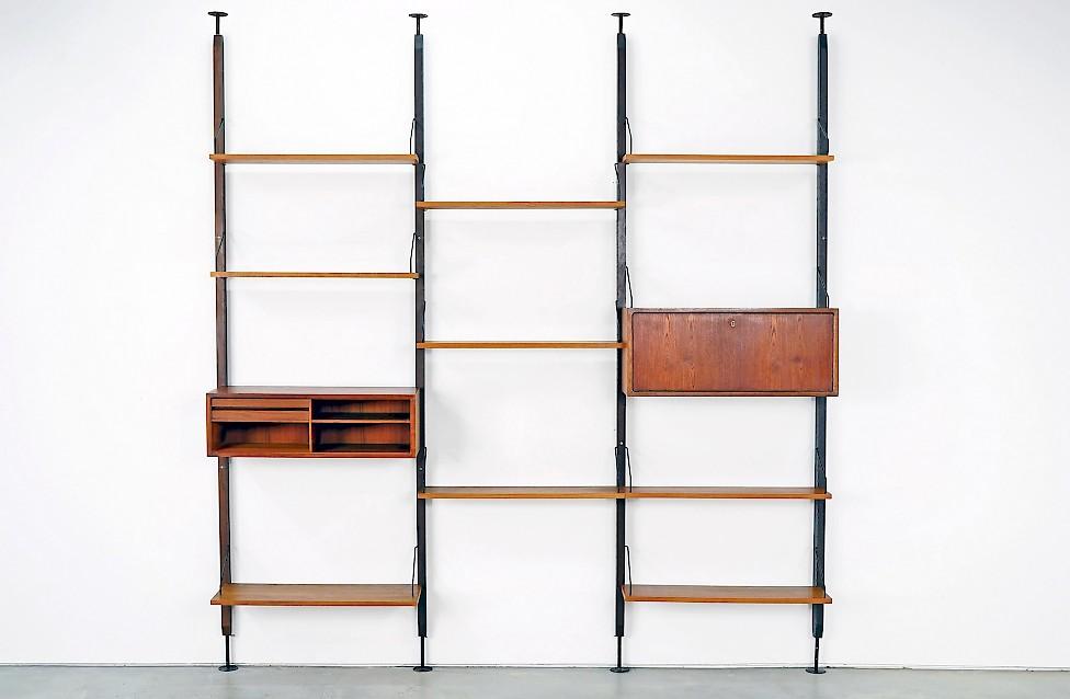Seltenes, modulares Regalsystem von Poul Cadovius