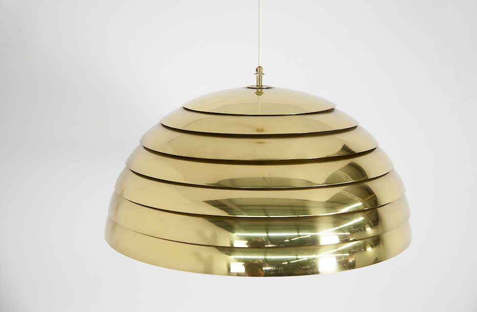 Brass Pendant Lamp by Hans Agne Jakobsson