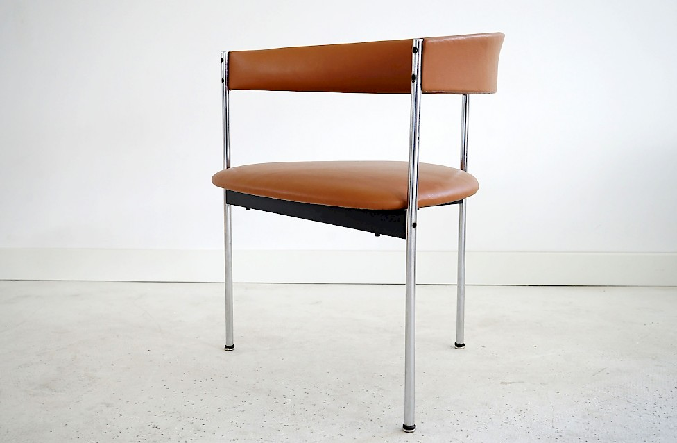 Four Three-legged Chairs by Dieter Waeckerlin