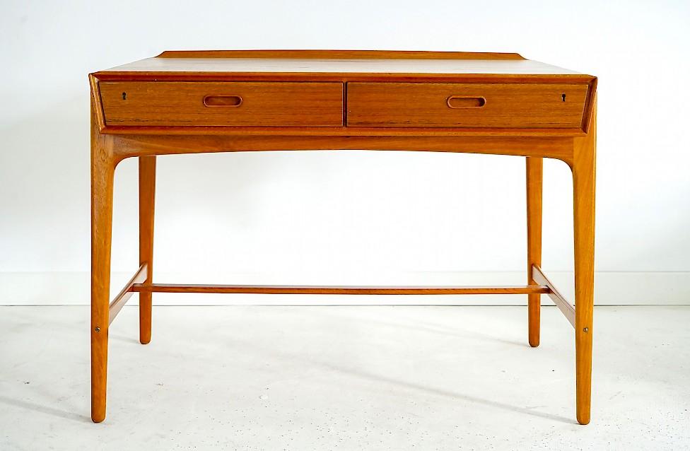 Model 200 Teak Desk by Svend Aage Madsen