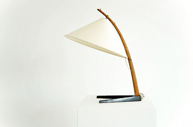Rare Thorn Table Lamp by J.T. Kalmar