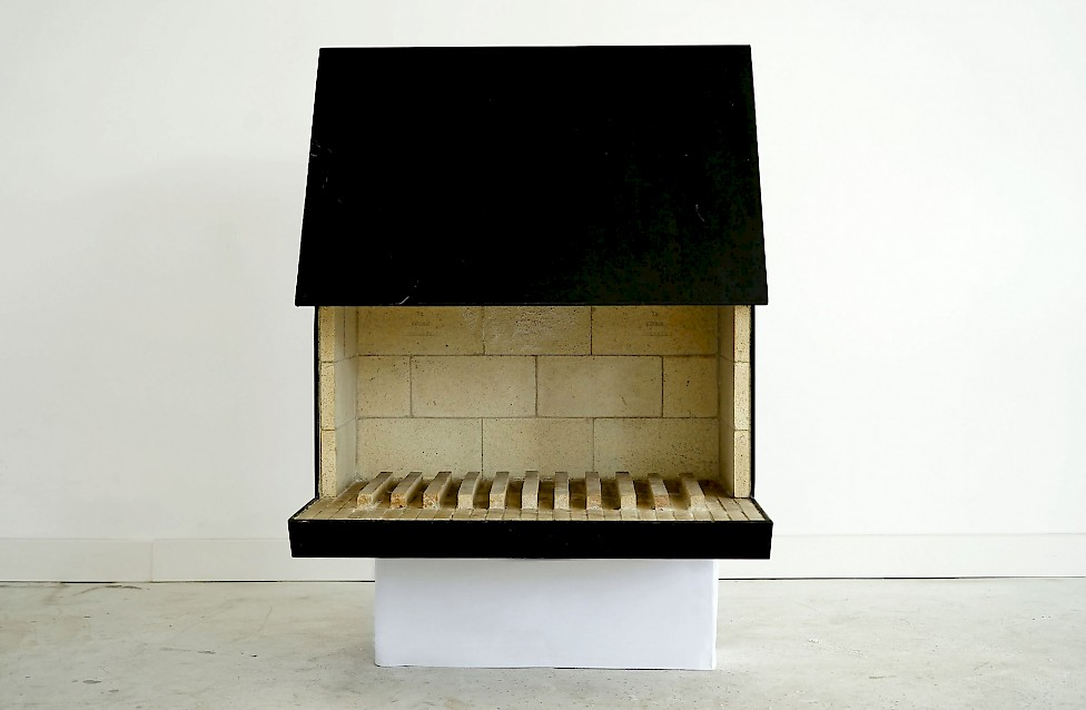 Cubus No 1 Fireplace by Nils Fagerholt