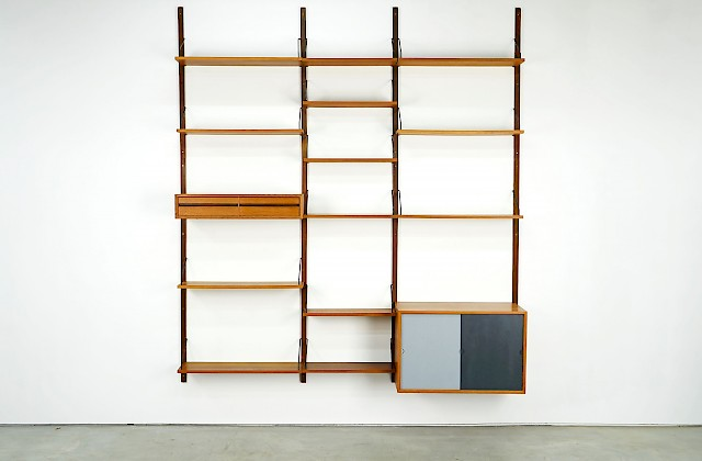 High Royal System Wall Shelf by Poul Cadovius