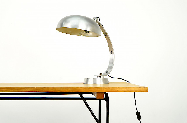 Brushed Alu Table Lamp