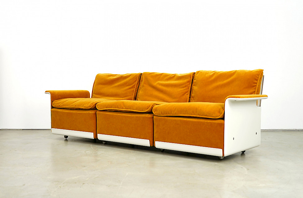 Three-Seater Sofa RZ62 by Dieter Rams