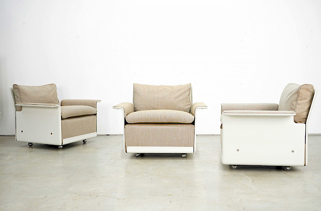 Lounge Chairs RZ62 by Dieter Rams