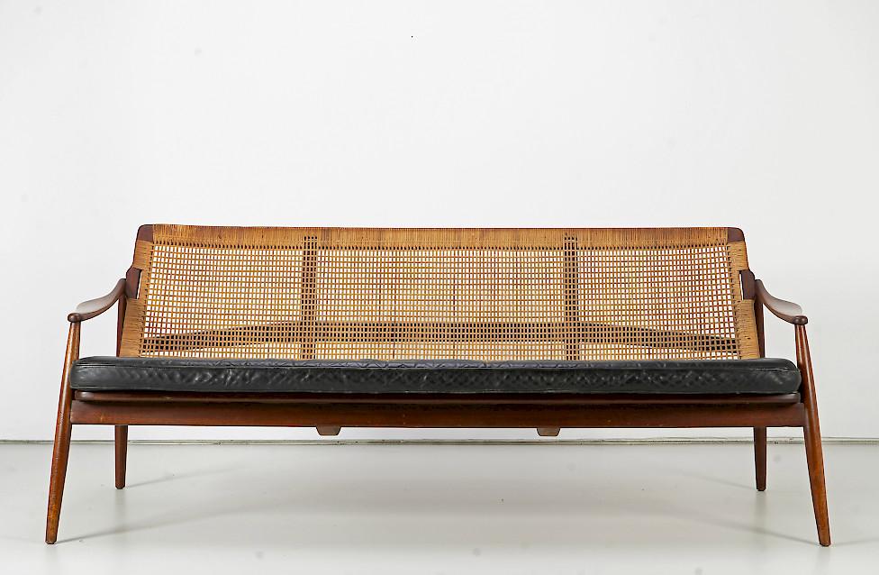 Teak Sofa by Hartmut Lohmeyer