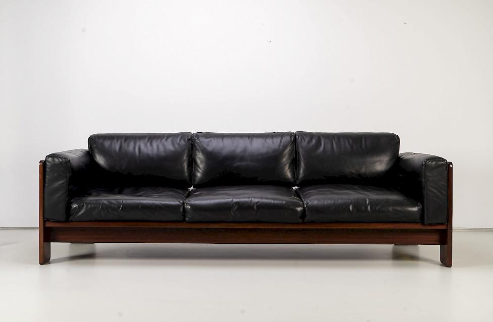 """1960s Leather Sofa """"Bastiano"""""""