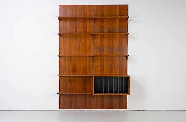 Walnut Shelf by Poul Cadovius