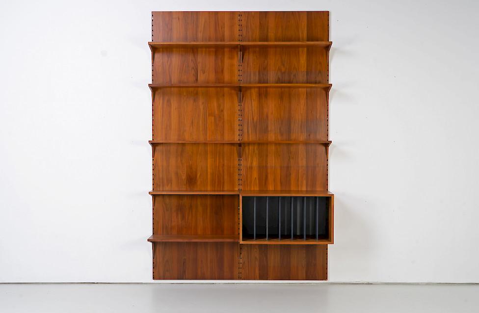 Walnut Shelf by Poul Cadovius