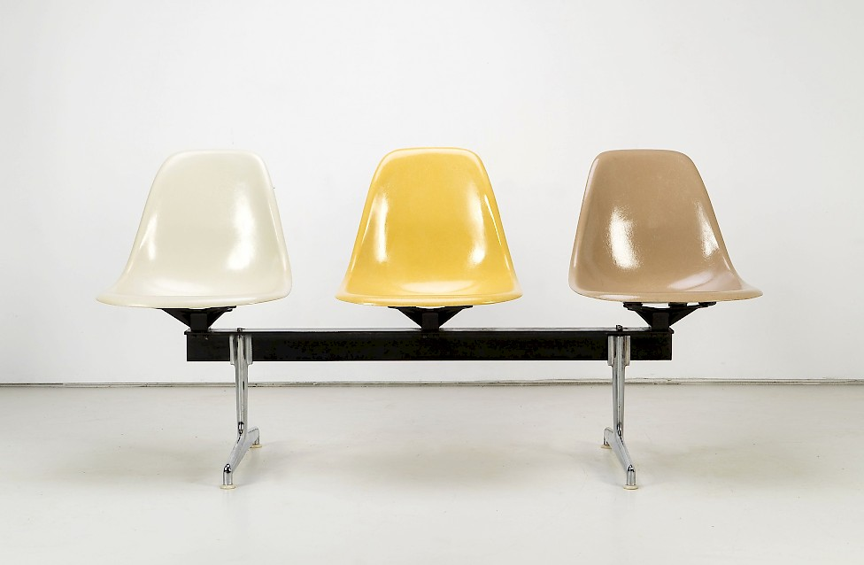 """Charles and Ray Eames - """"Tandem Seating"""""""