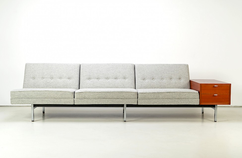 Modular Sofa and Ottoman by George Nelson