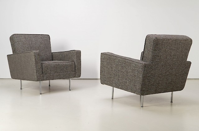Two Club Chairs by Florence Knoll