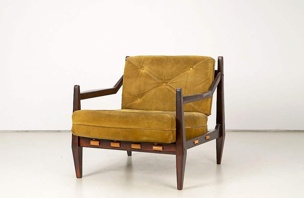 Jean Gillon - Rosewood Easy Chair