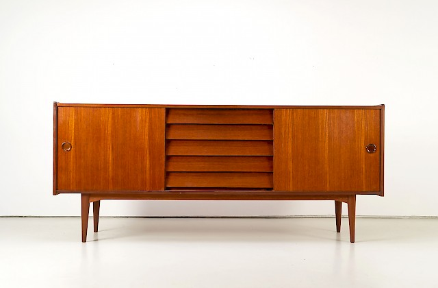 Teak Sideboard by Hugo Troeds