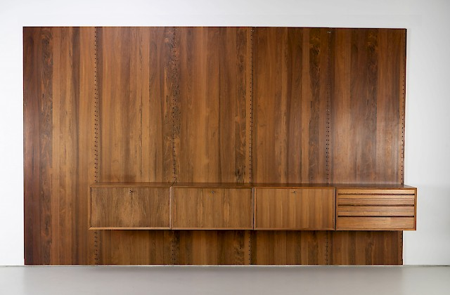 Rosewood Wall Unit by Poul Cadovius