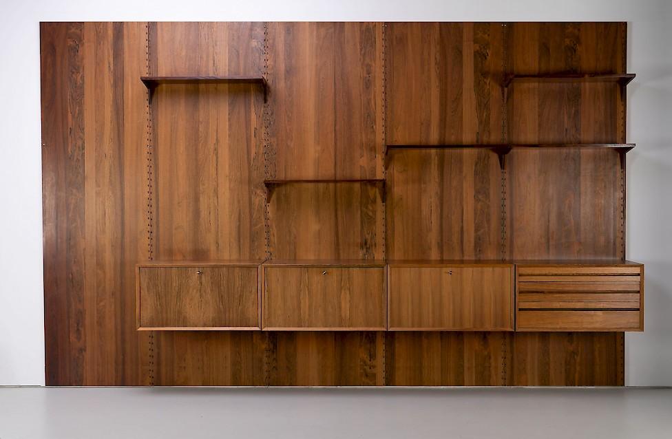Palisander Wand-Regal von Poul Cadovius