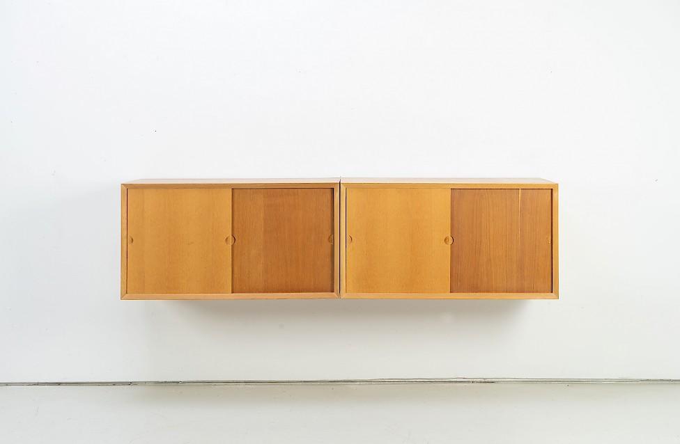 Two Piece Oak Sideboard