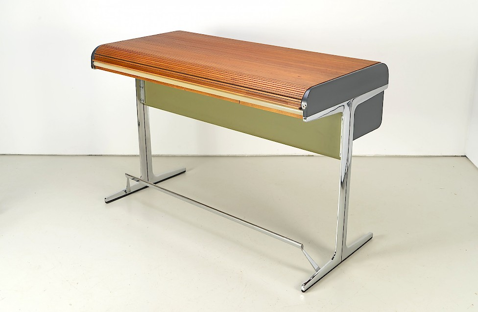 George Nelson - Standing-Height Roll-Top Desk