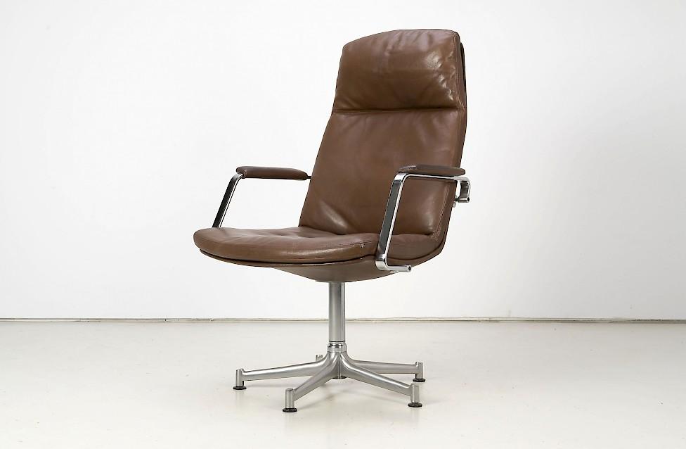 Six FK-86 Chairs by Preben Fabricius & Jørgen Kastholm