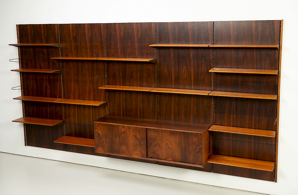 Rosewood Wall Unit by Finn Juhl